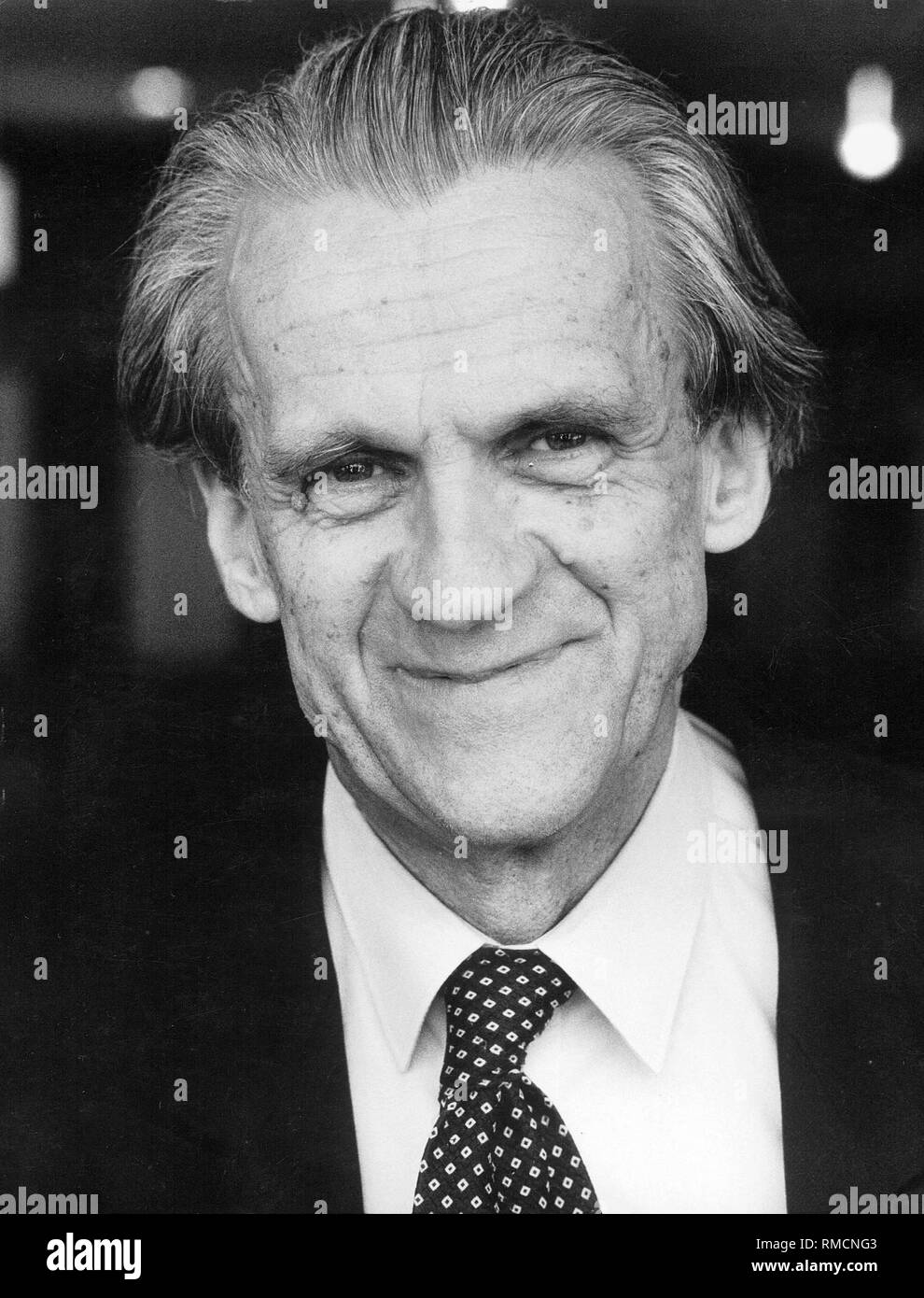 Walter Jens (born 1923), a German literary scholar and writer. - Stock Image