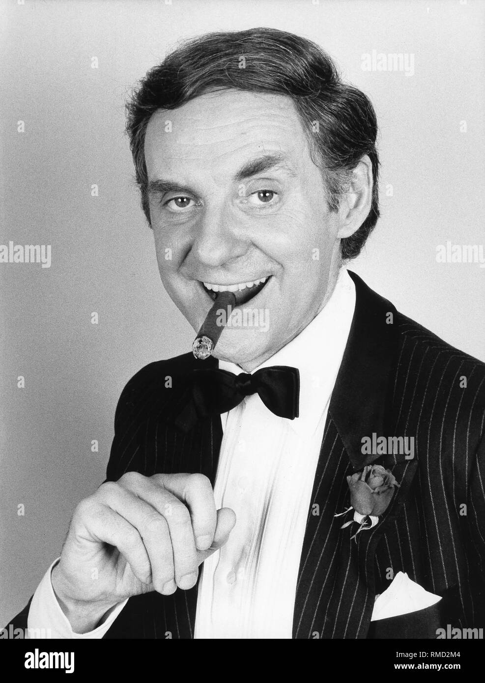 Actor Harald Juhnke in 1984. - Stock Image