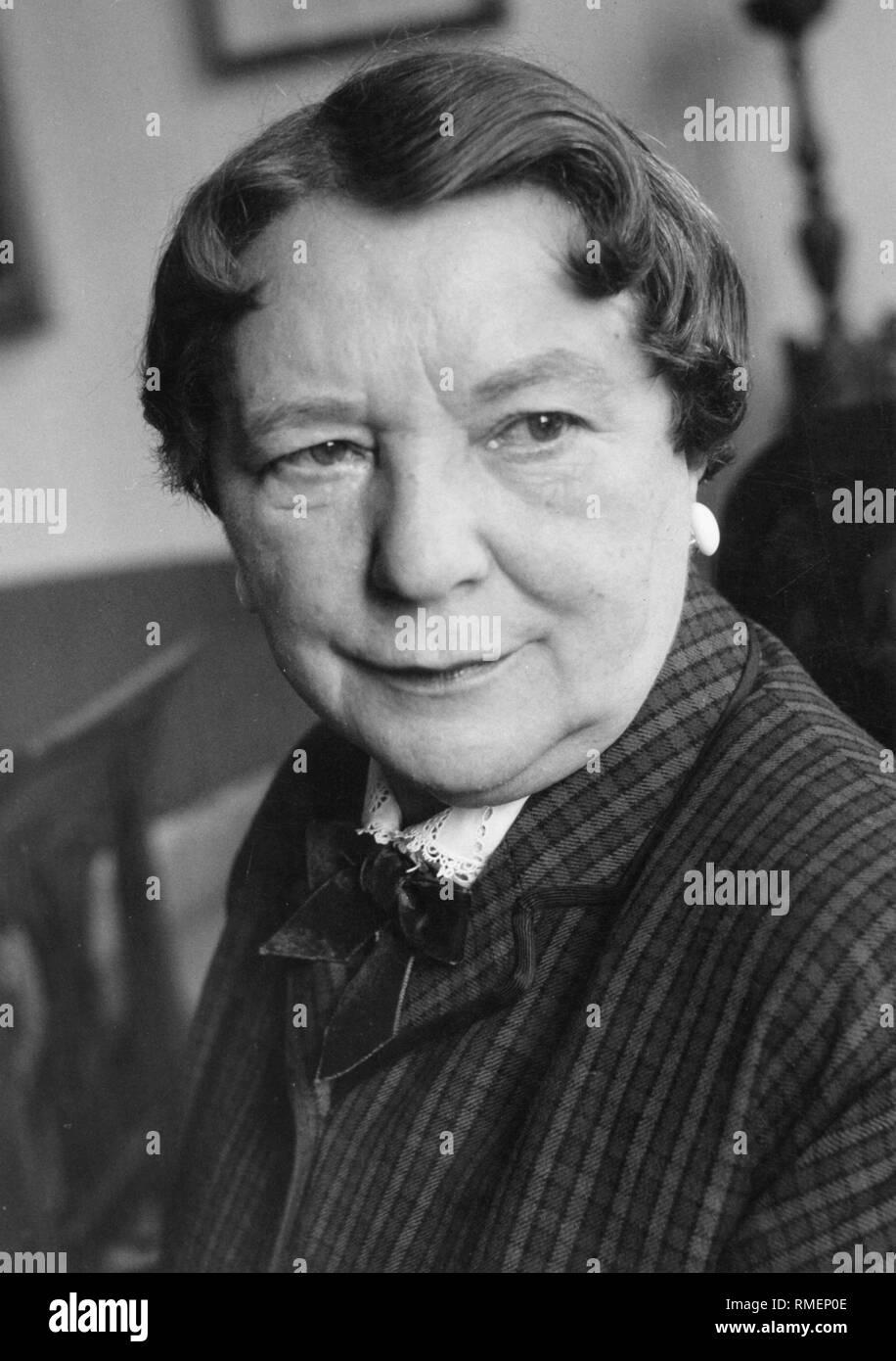 Liesl Karlstadt, a German actress. - Stock Image