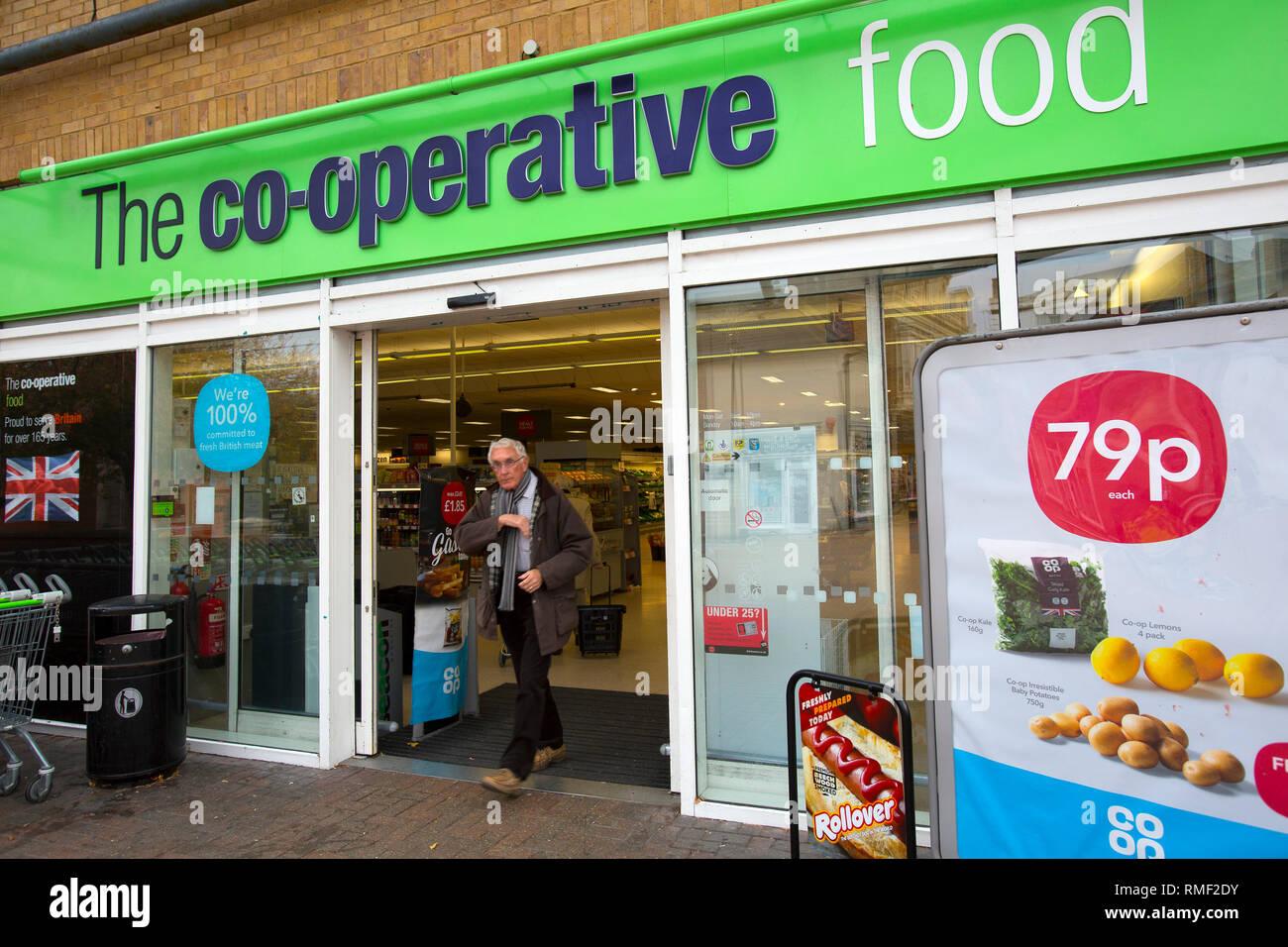 Co-Op, Ryde, Isle of Wight, England, UK, - Stock Image