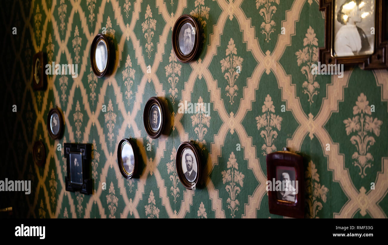 Dostoyevski Museum  St.Petersburg Stock Photo