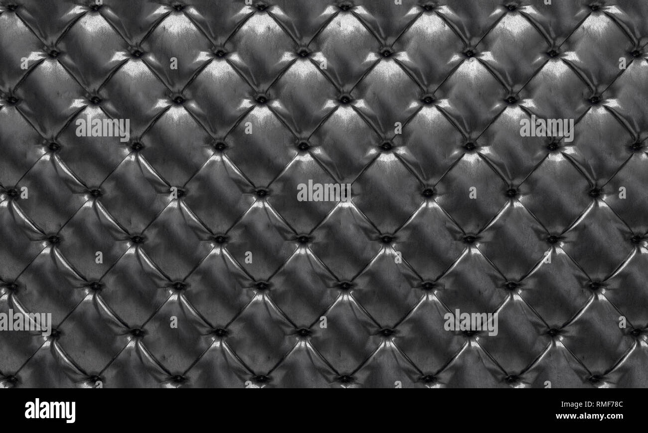 3d rendering image of  tufted background - Stock Image