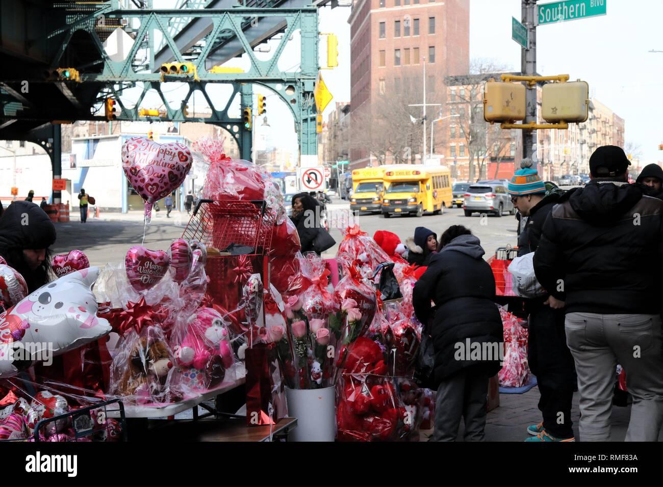 New York City, New York, USA  14th Feb, 2019  Hectic