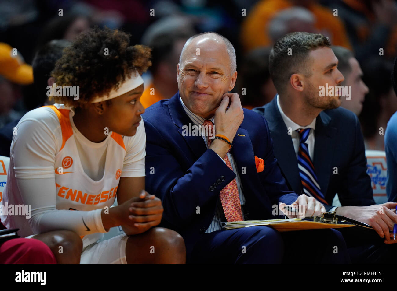 February 14 2019 Assistant Coach Dean Lockwood Of The