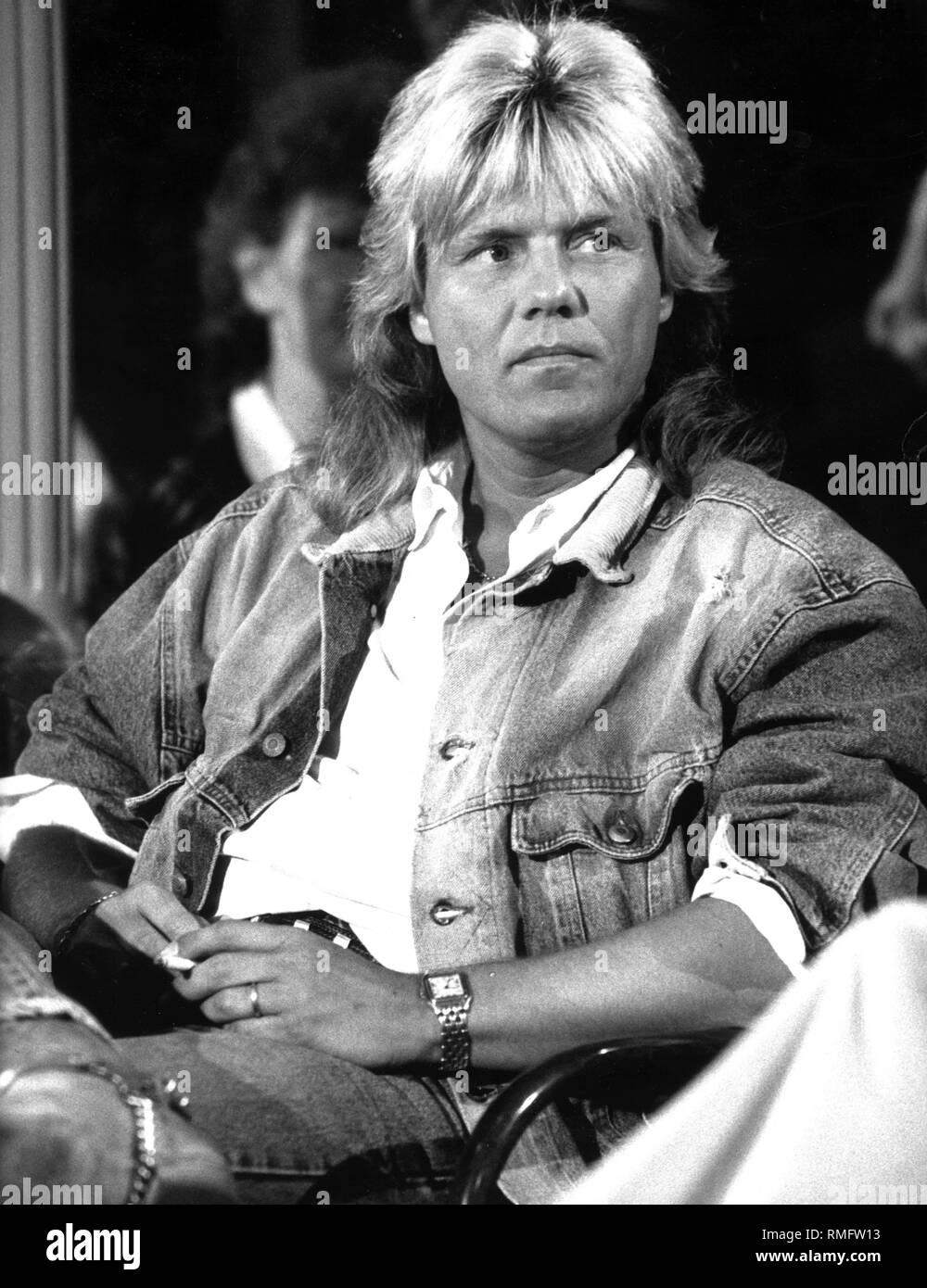 Dieter Bohlen, a Schlager singer. - Stock Image