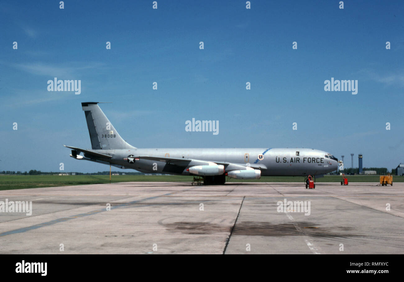 USAF United States Air Force Boeing KC-135A Stratotanker - Stock Image