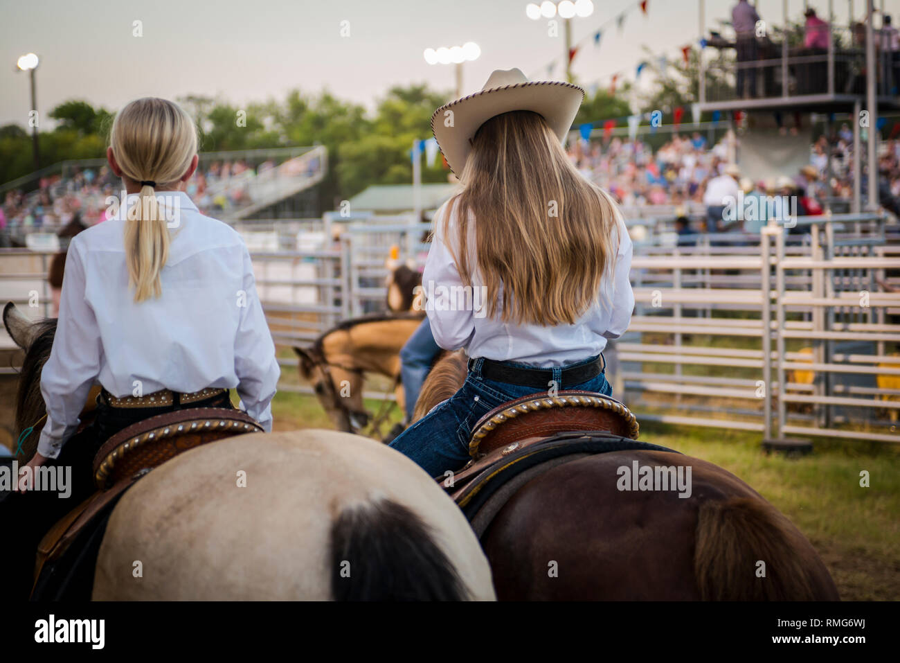 Horses And Cowgirls Stock Photos Amp Horses And Cowgirls