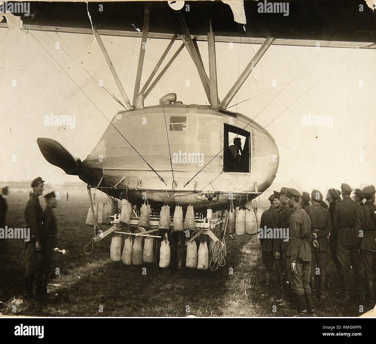 Aeronautic Machine. Photograph - Stock Image