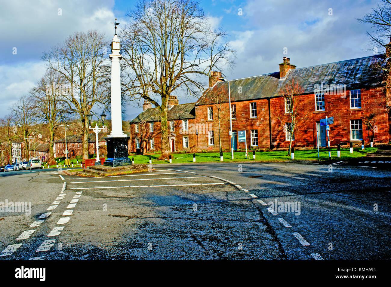 Boroughgate, Appleby in Westmorland, Cumbria, England - Stock Image