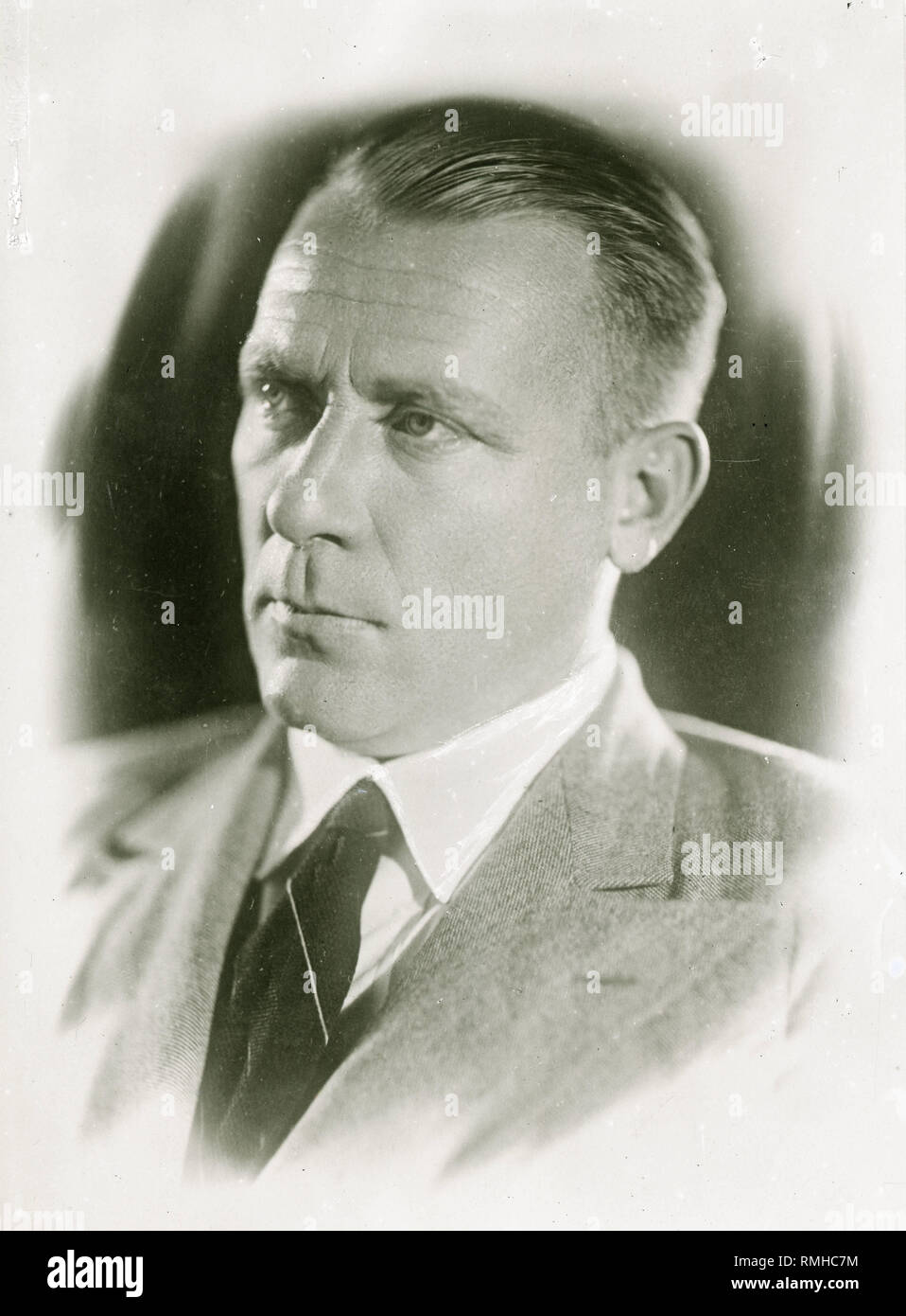 Portrait of the author Mikhail Bulgakov (1891-1940). Photograph - Stock Image