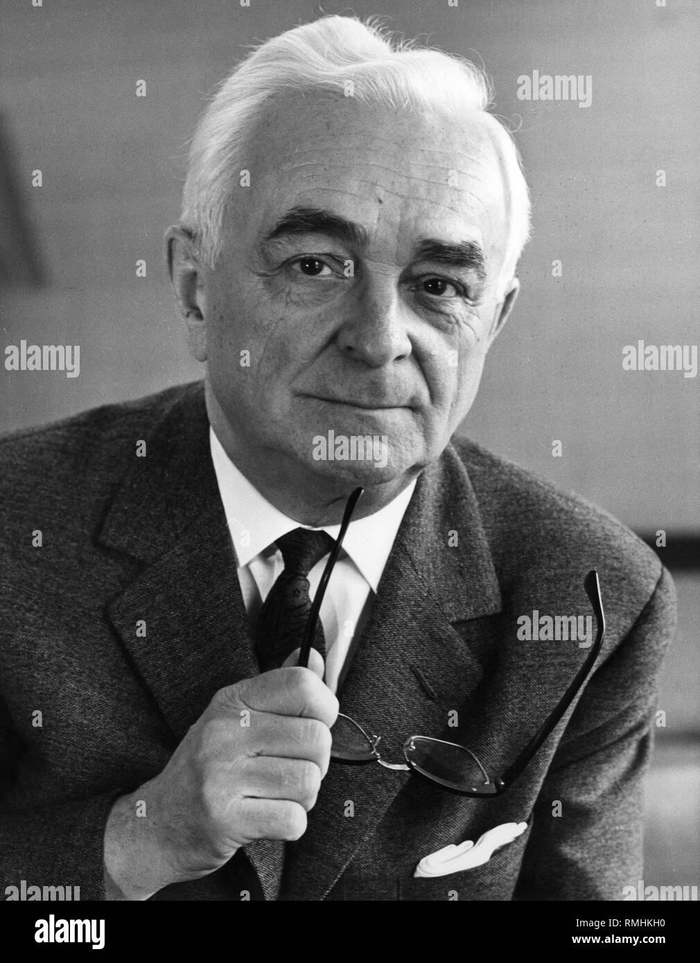 Wilhelm Goldmann, German publisher. - Stock Image
