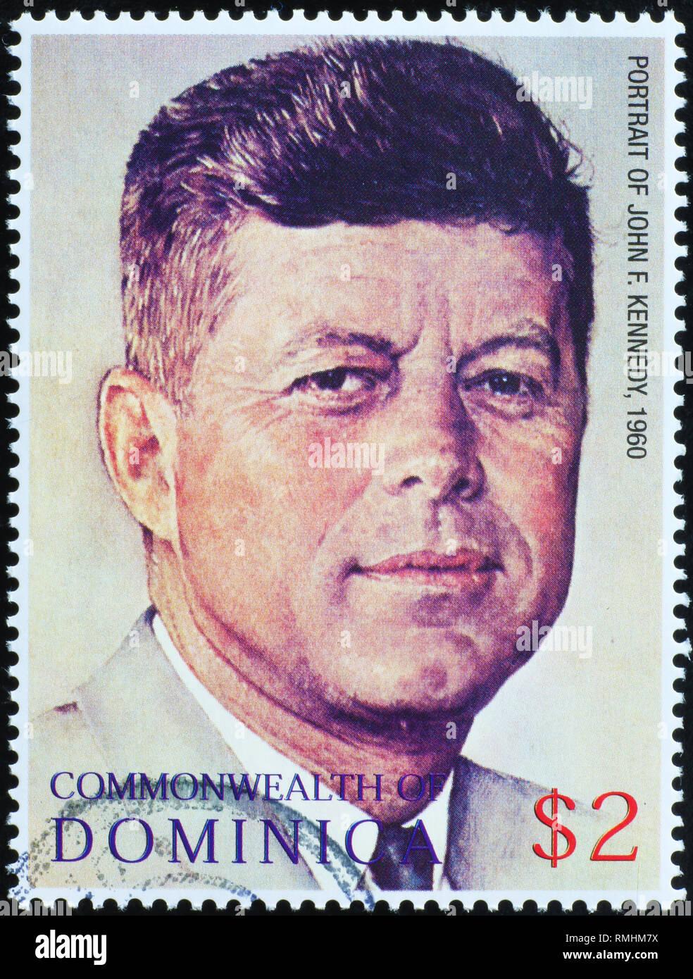 "/""JOHN FITZGERALD KENNEDY/"" 11/"" x 15/"" President Norman Rockwell print JFK No.1"