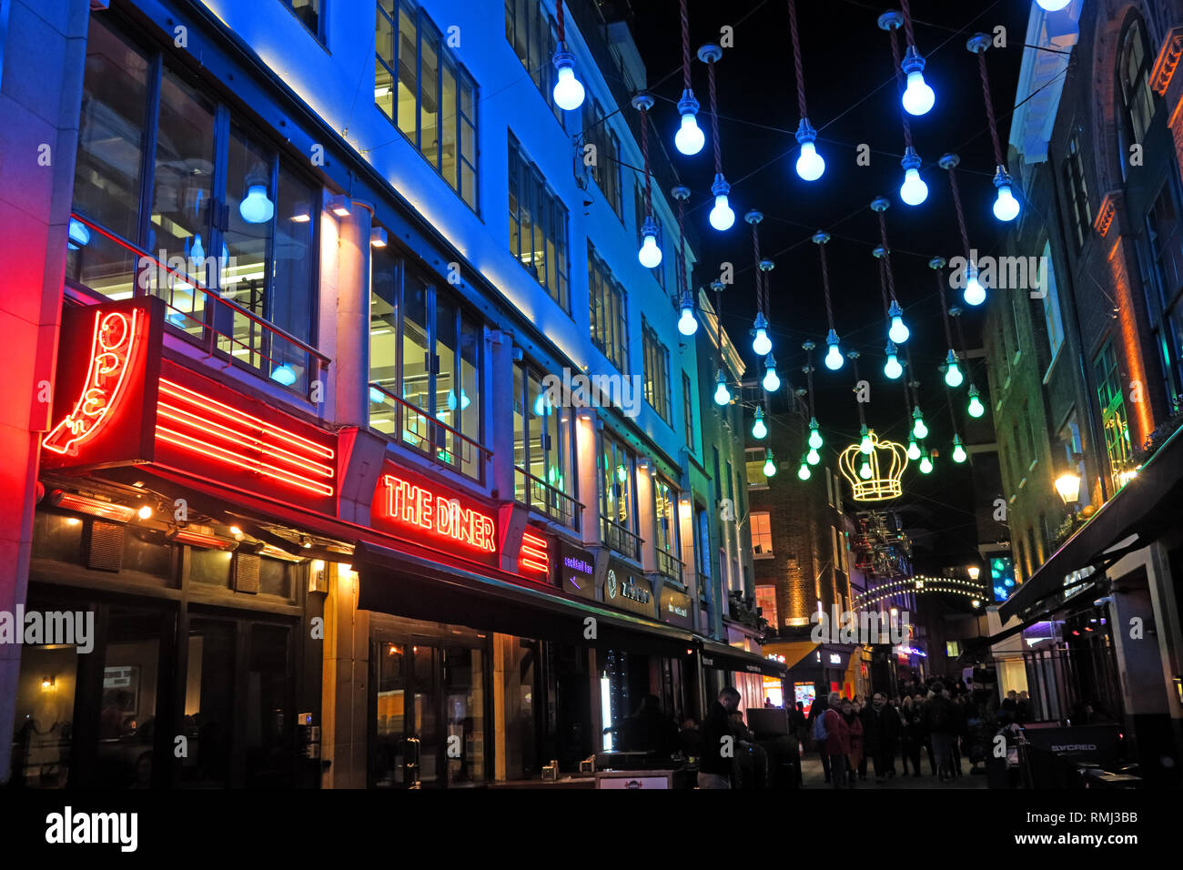 Carnaby Street, City of Westminster, London, England, UK, W1F 9PS - Stock Image