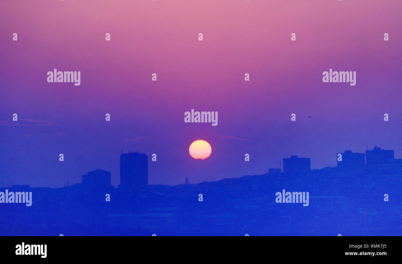 Aesthetic Sunset Stock Photo Alamy