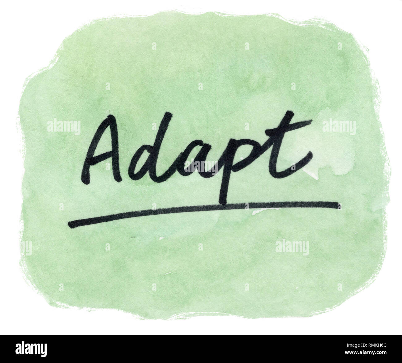 adapt - Stock Image