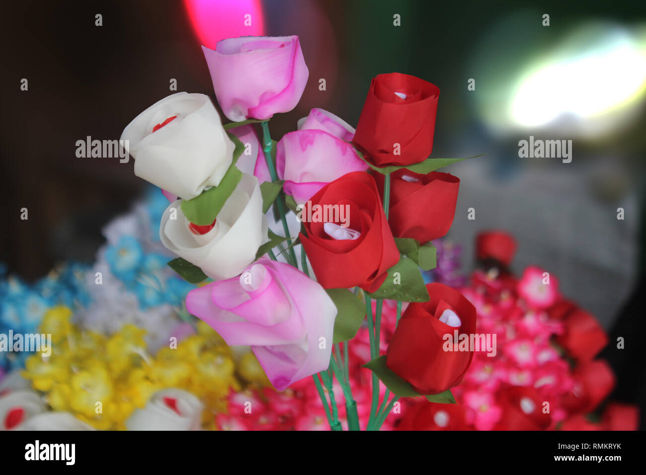 Bast flower - Stock Image