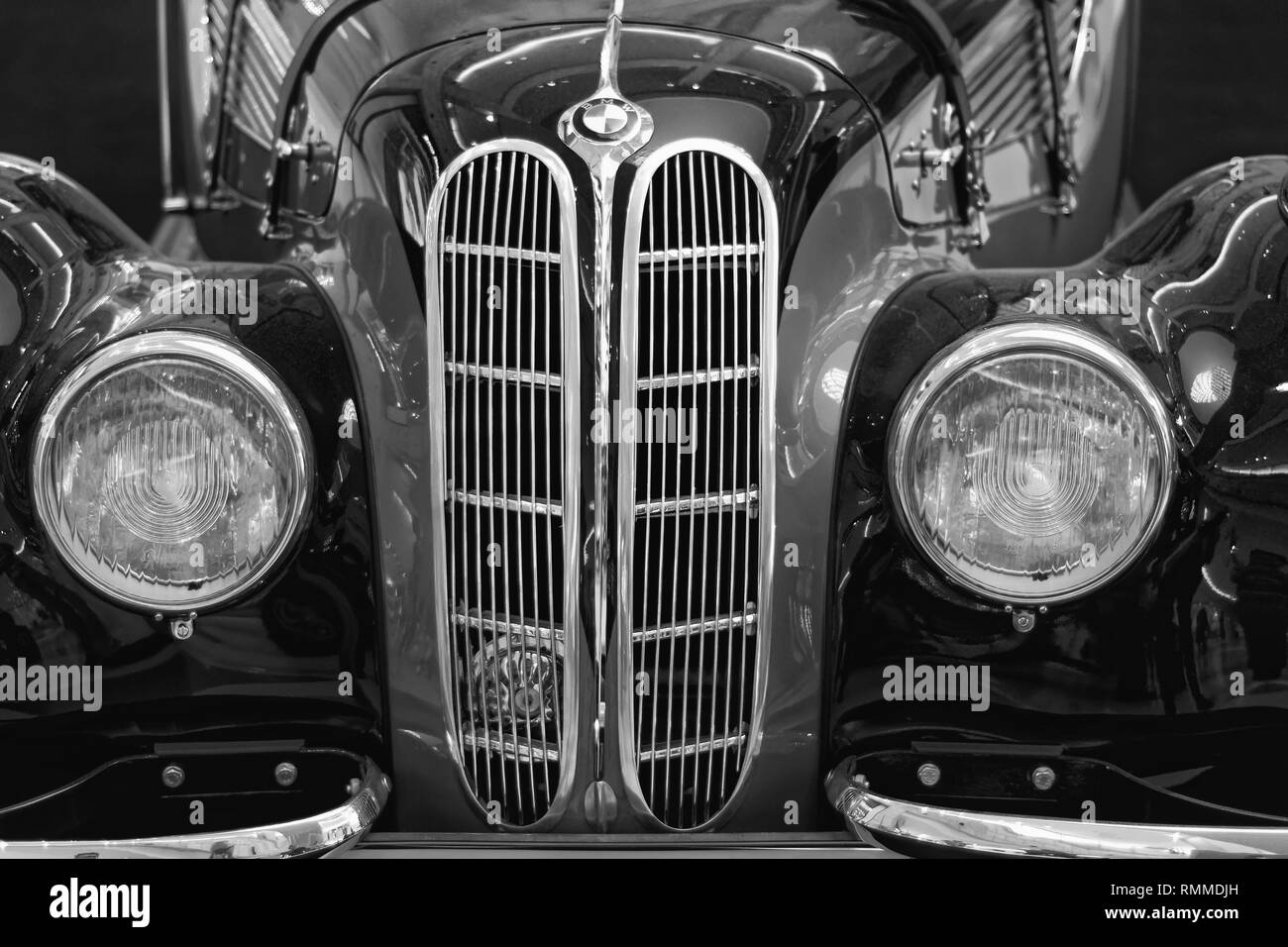 Photo cars BMW-327 Coupe, 1939,Germany - Stock Image