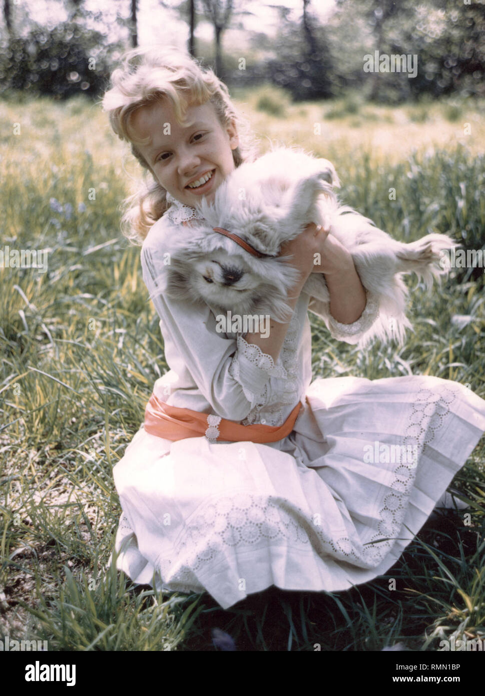 Hayley Mills, 'Pollyanna' (1960) Walt Disney Pictures  File Reference # 33751_253THA - Stock Image