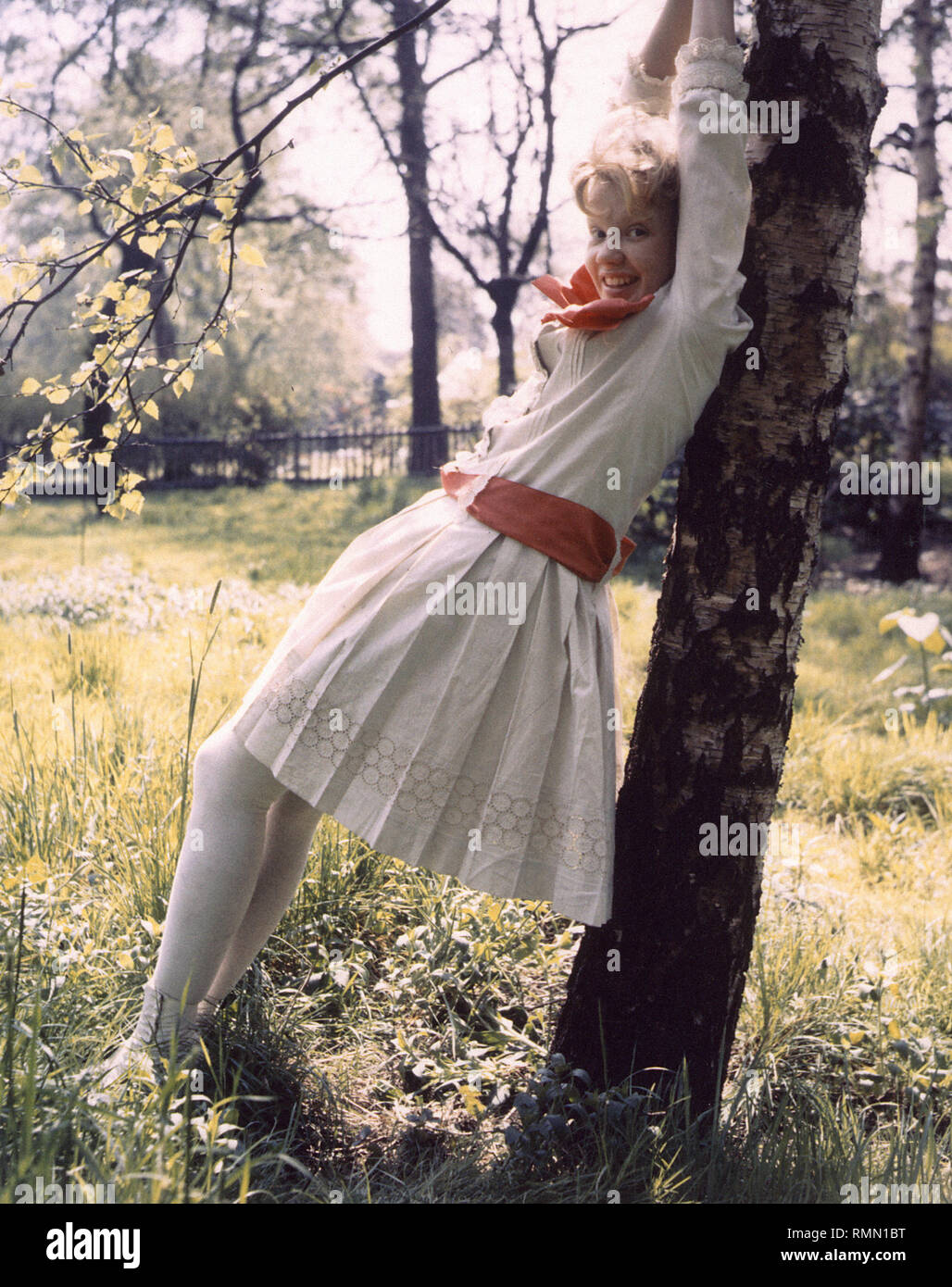 Hayley Mills, 'Pollyanna' (1960) Walt Disney Pictures  File Reference # 33751_252THA - Stock Image