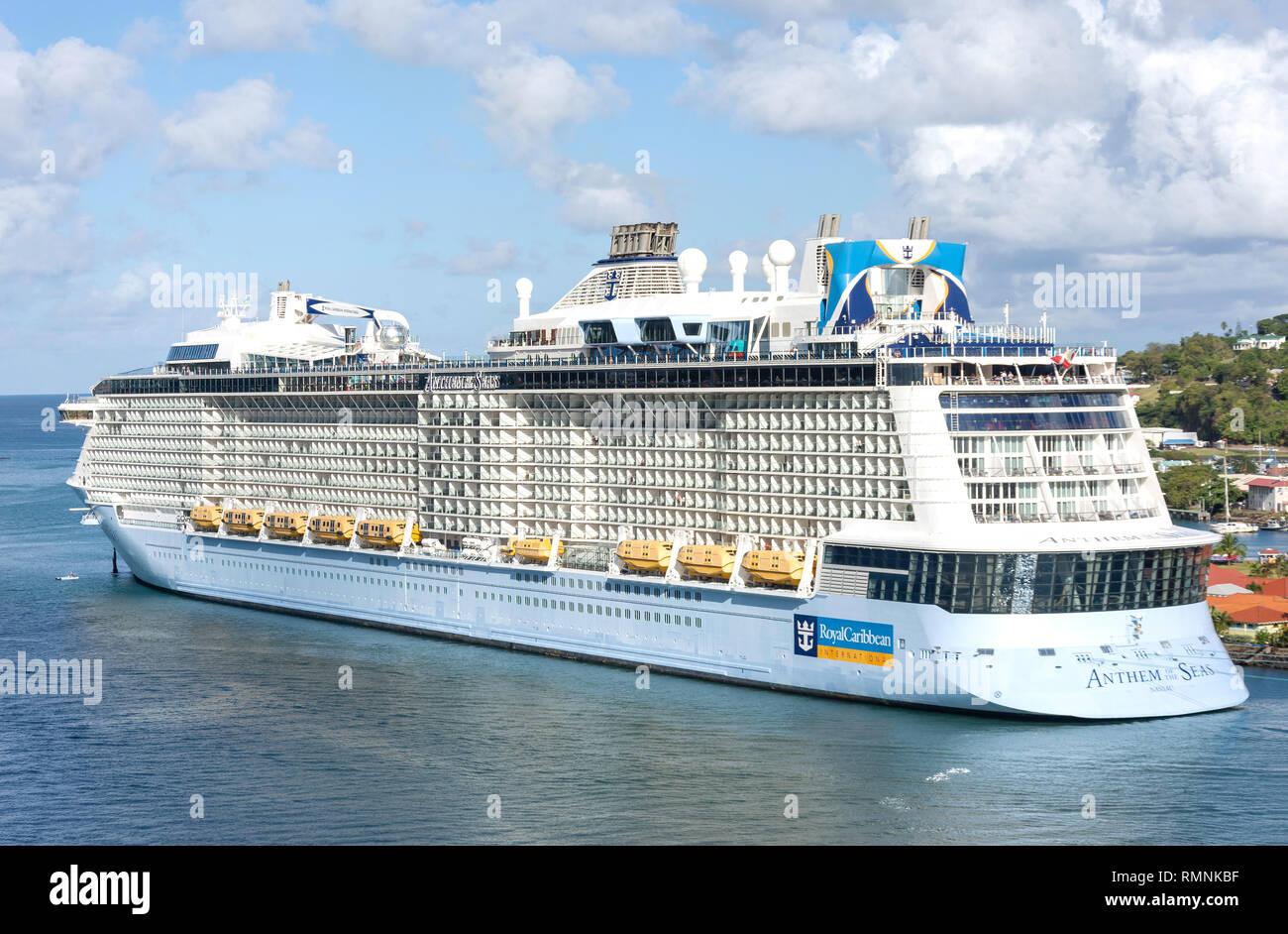Royal Caribbean Cruise Ship Beach Stock Photos & Royal