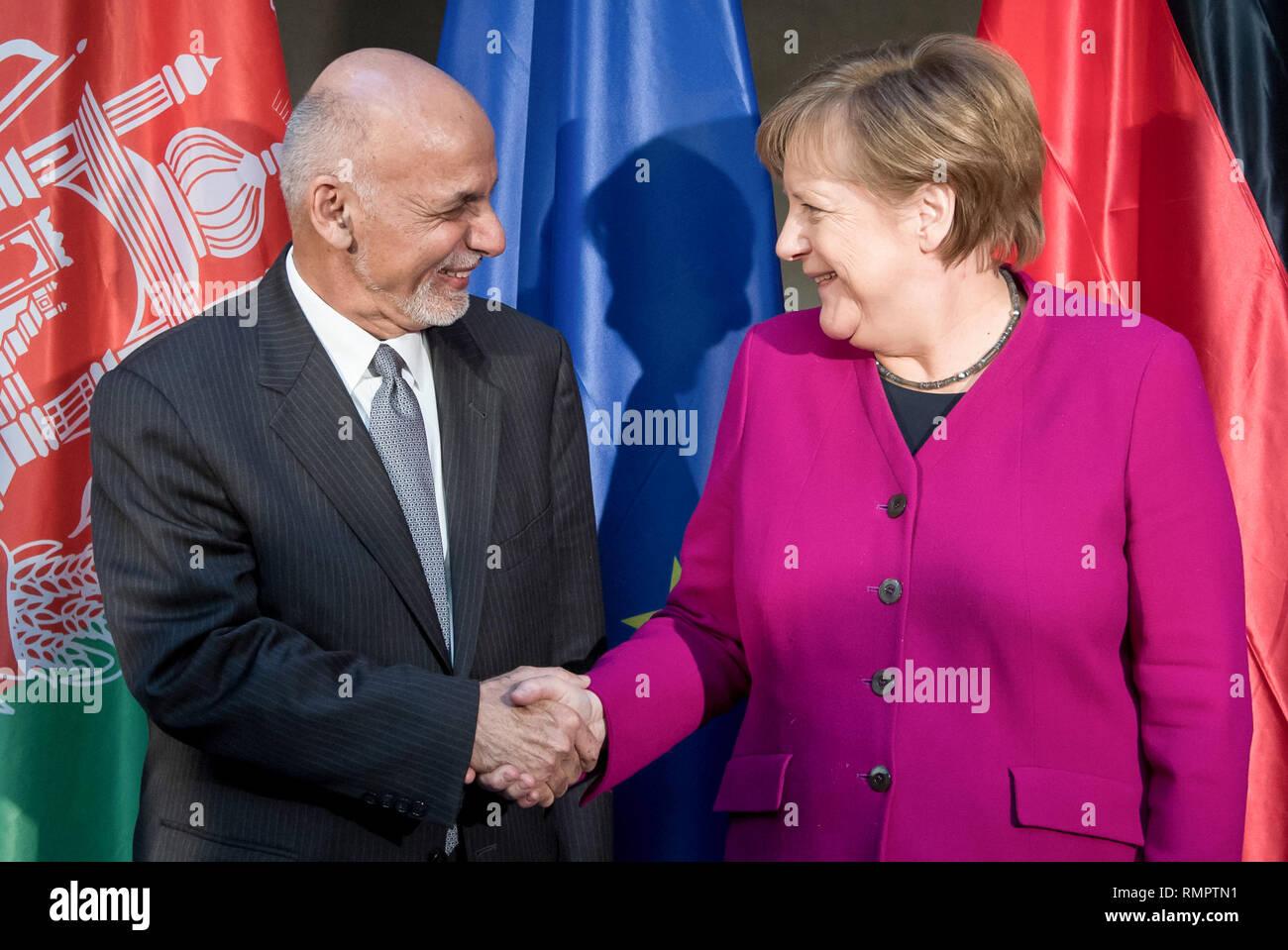 Munich, Germany  16th Feb, 2019  Chancellor Angela Merkel