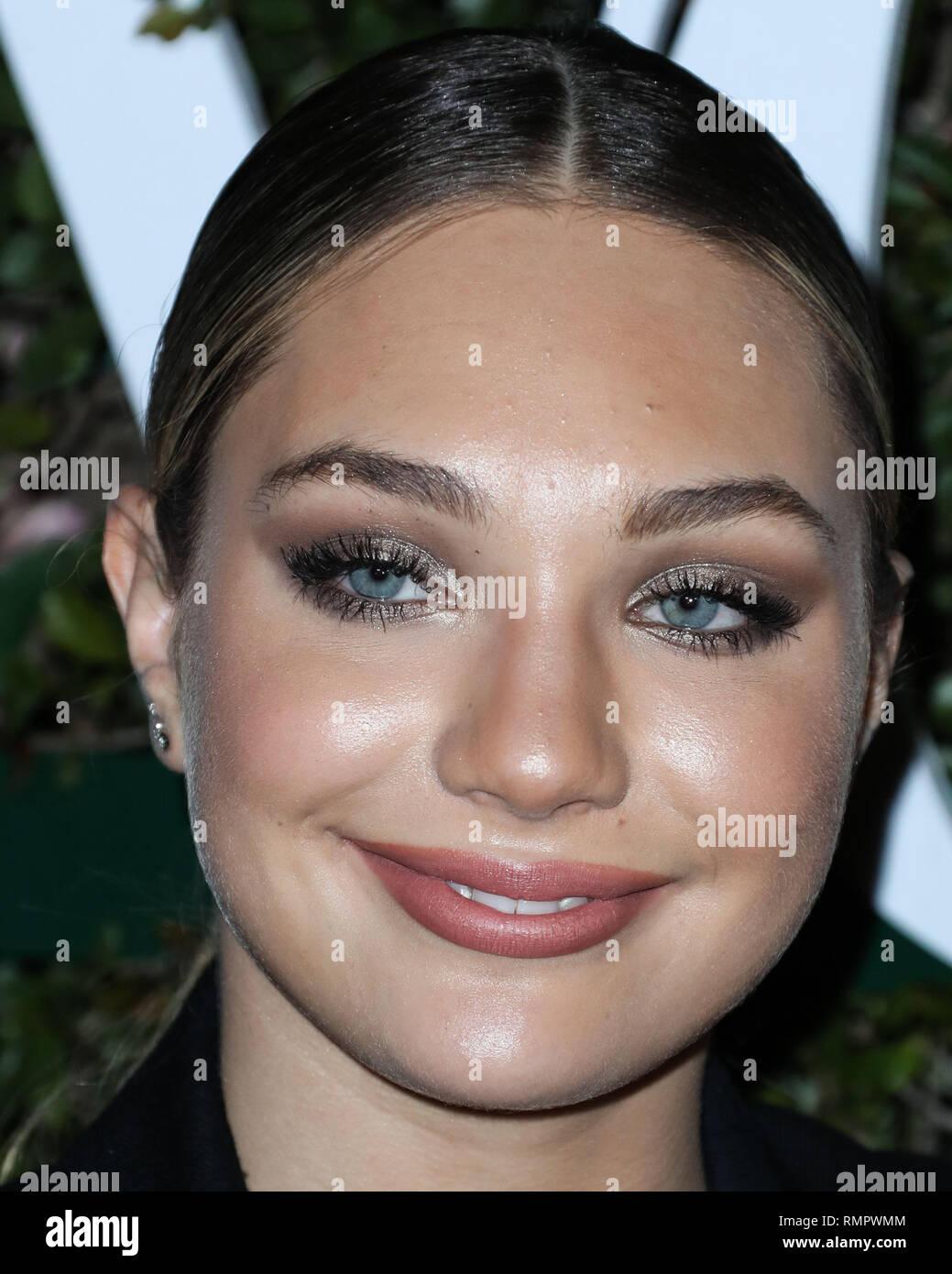 LOS ANGELES, CA, USA - FEBRUARY 15: Actress Maddie Ziegler
