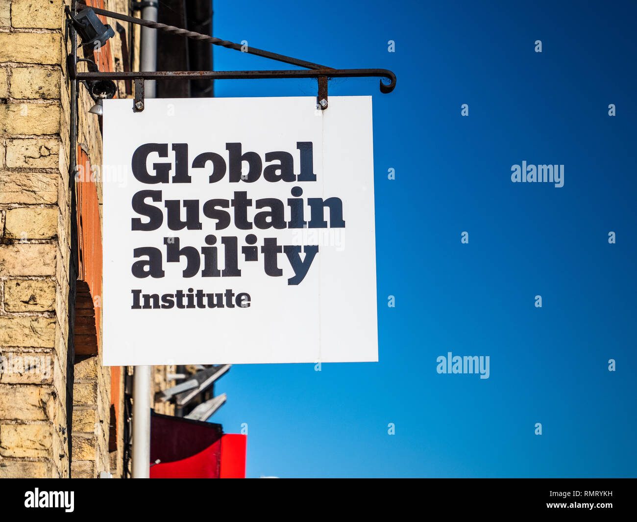 Global Sustainability Institute Anglia Ruskin University ARU Cambridge - Stock Image