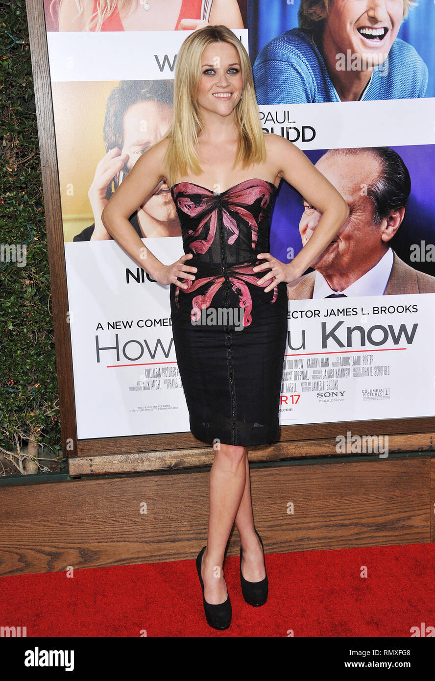 Reese Witherspoon - How do You Know Premiere at the Westwood Village
