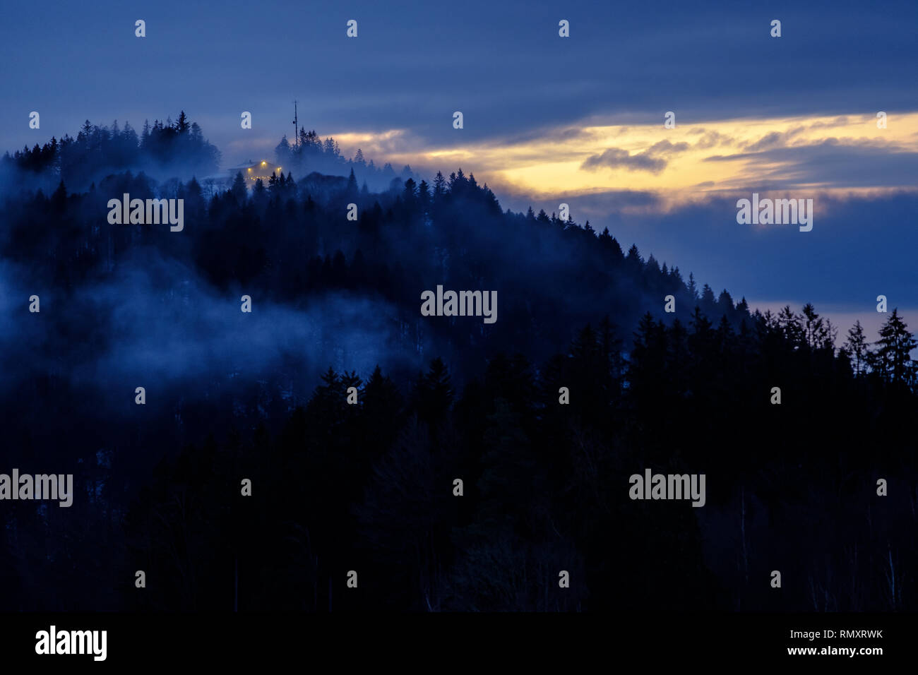 Nebel - Stock Image