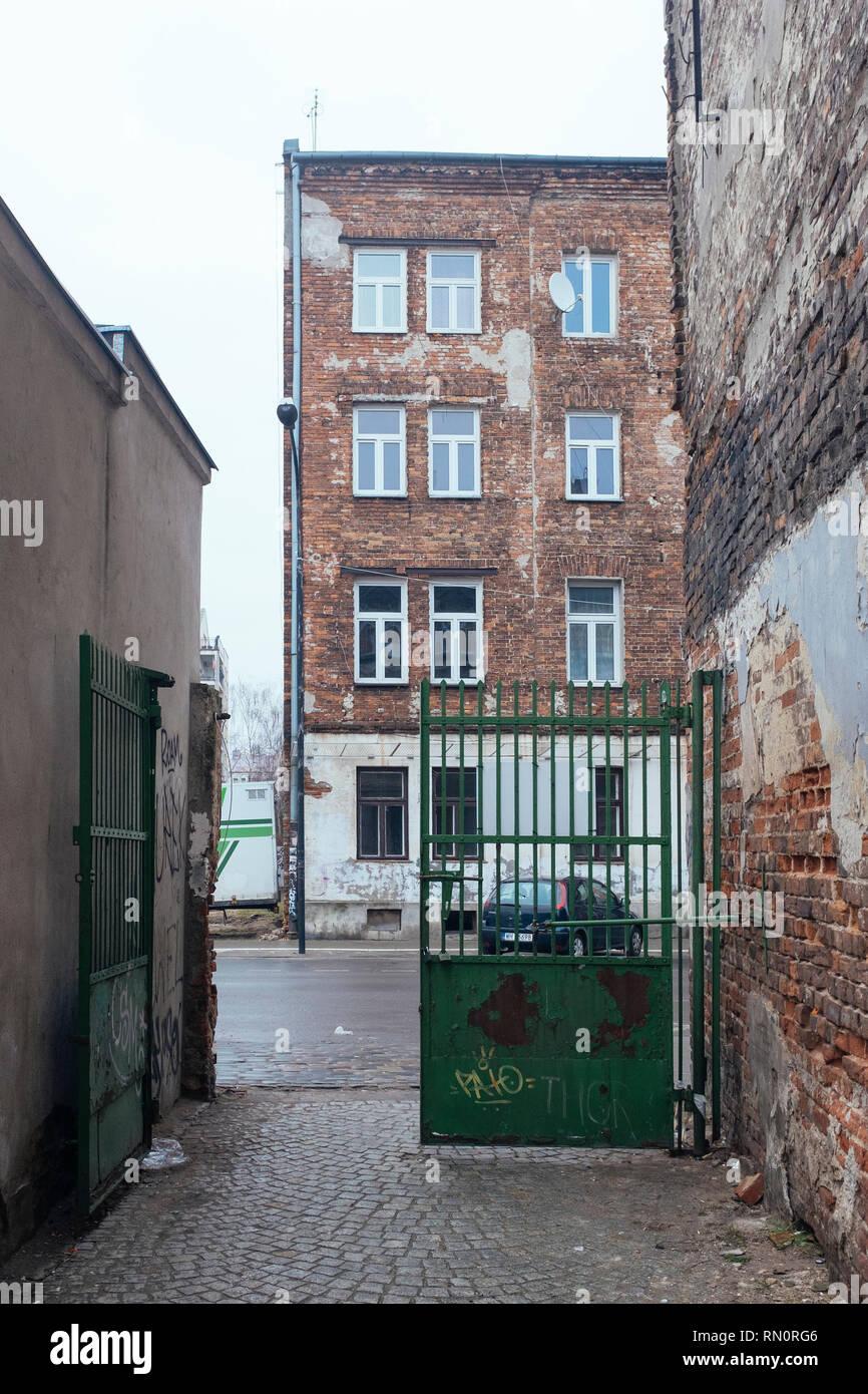 Warsaw Praga District - Stock Image