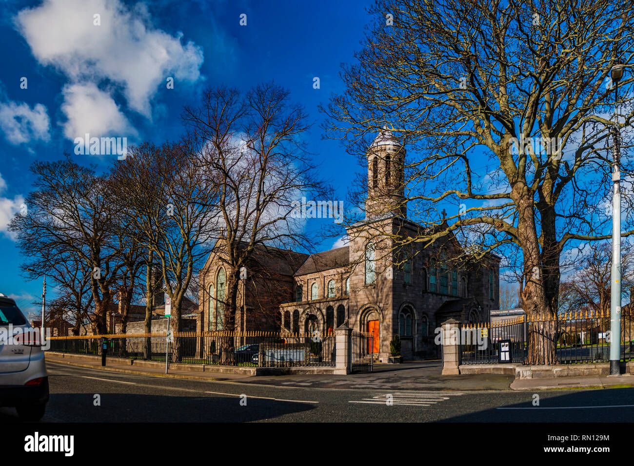 Church of the Defence Forces or The Church of the Sacred Heart, Arbour Hill, Dublin. - Stock Image