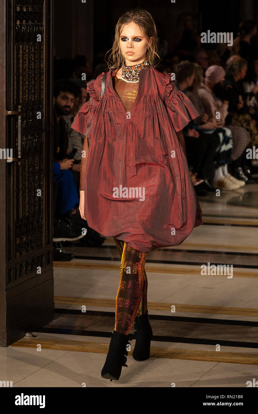 3fd6c03fb0c15 London Fashion Week  Rocky Star s AW19 show took place today at Fashion  Scout