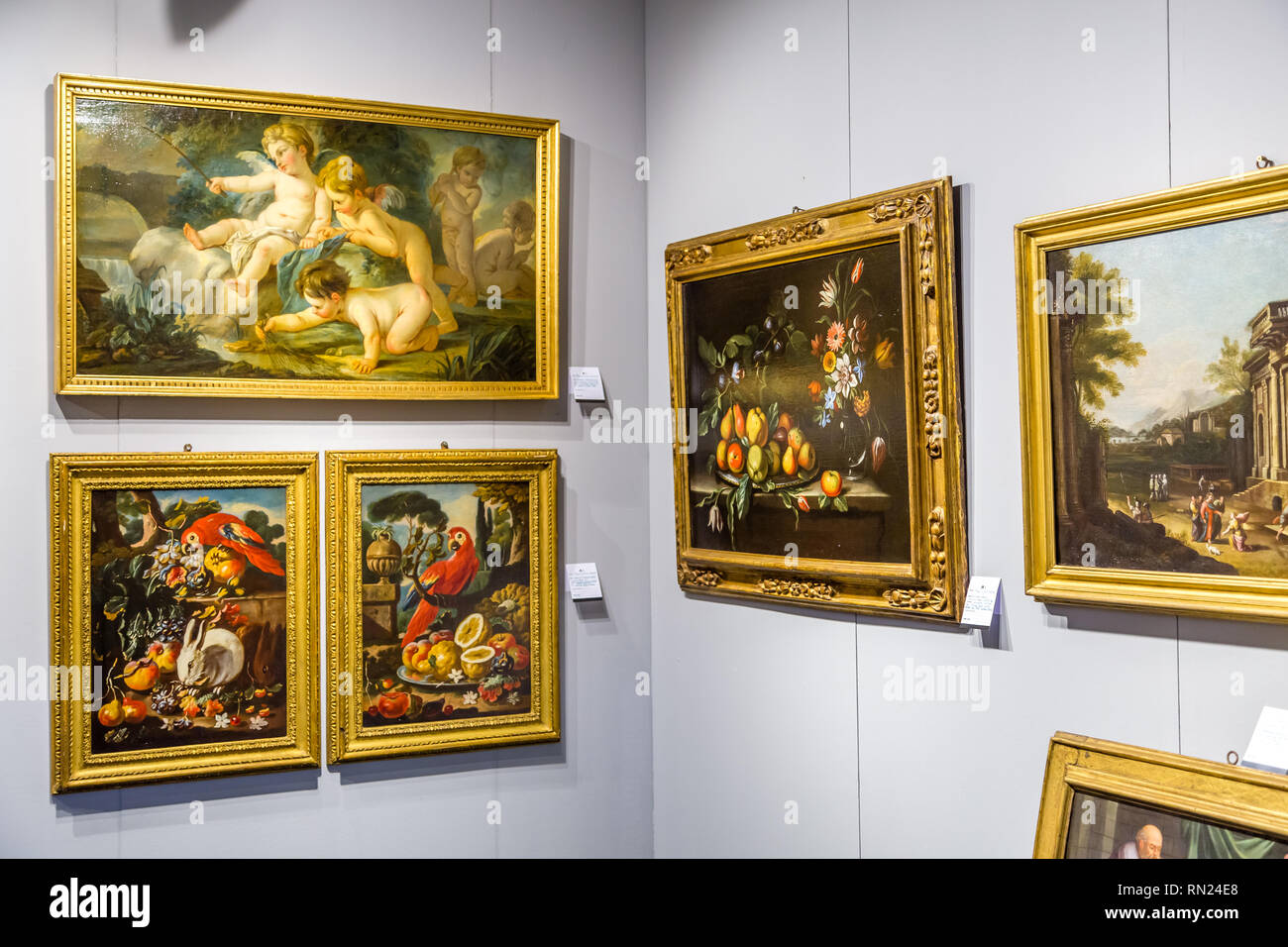 Modena, Italy  15th February, 2019  Priceless artworks