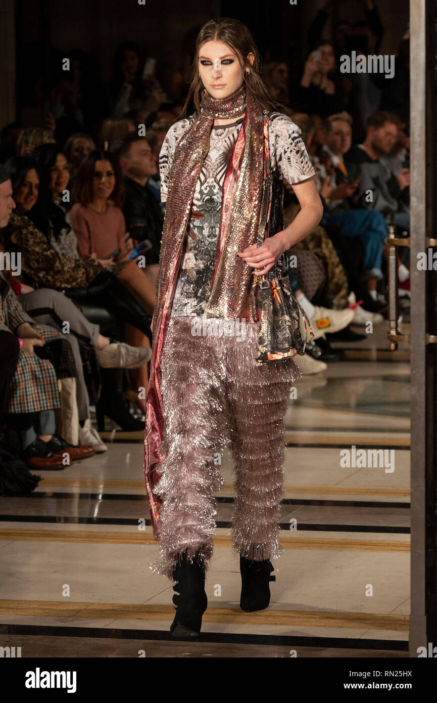 London Fashion Week Rocky Star Aw19 Show Took Place Today At Fashion Scout Freemason S Hall Covent