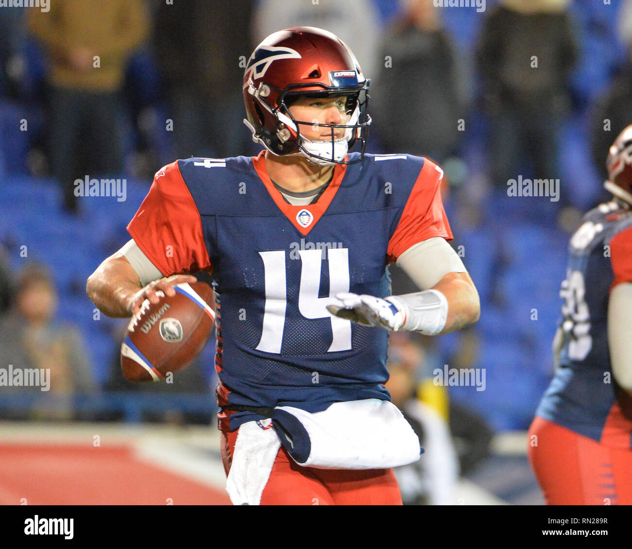 Memphis TN USA 16th Feb 2019 Express Quarterback Christian