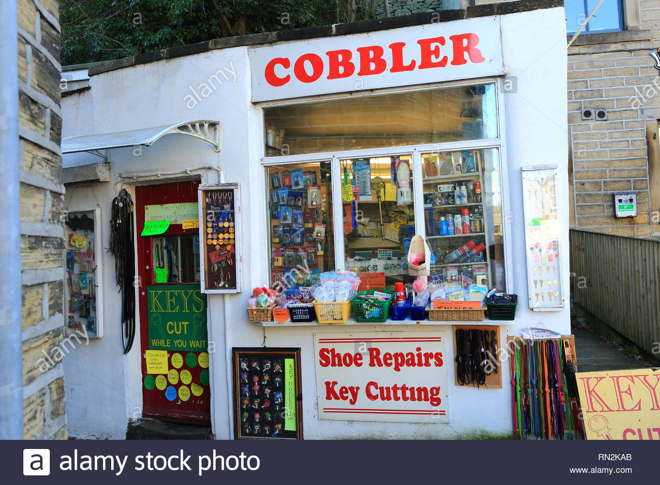 Cobblers Shop High Resolution Stock