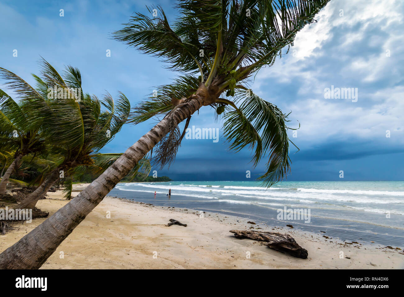 Labuan beach - Stock Image