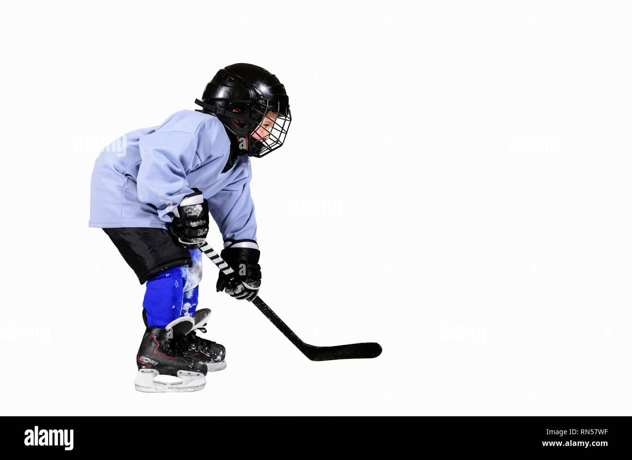 Ice Hockey Equipment Stock Photos & Ice Hockey Equipment Stock