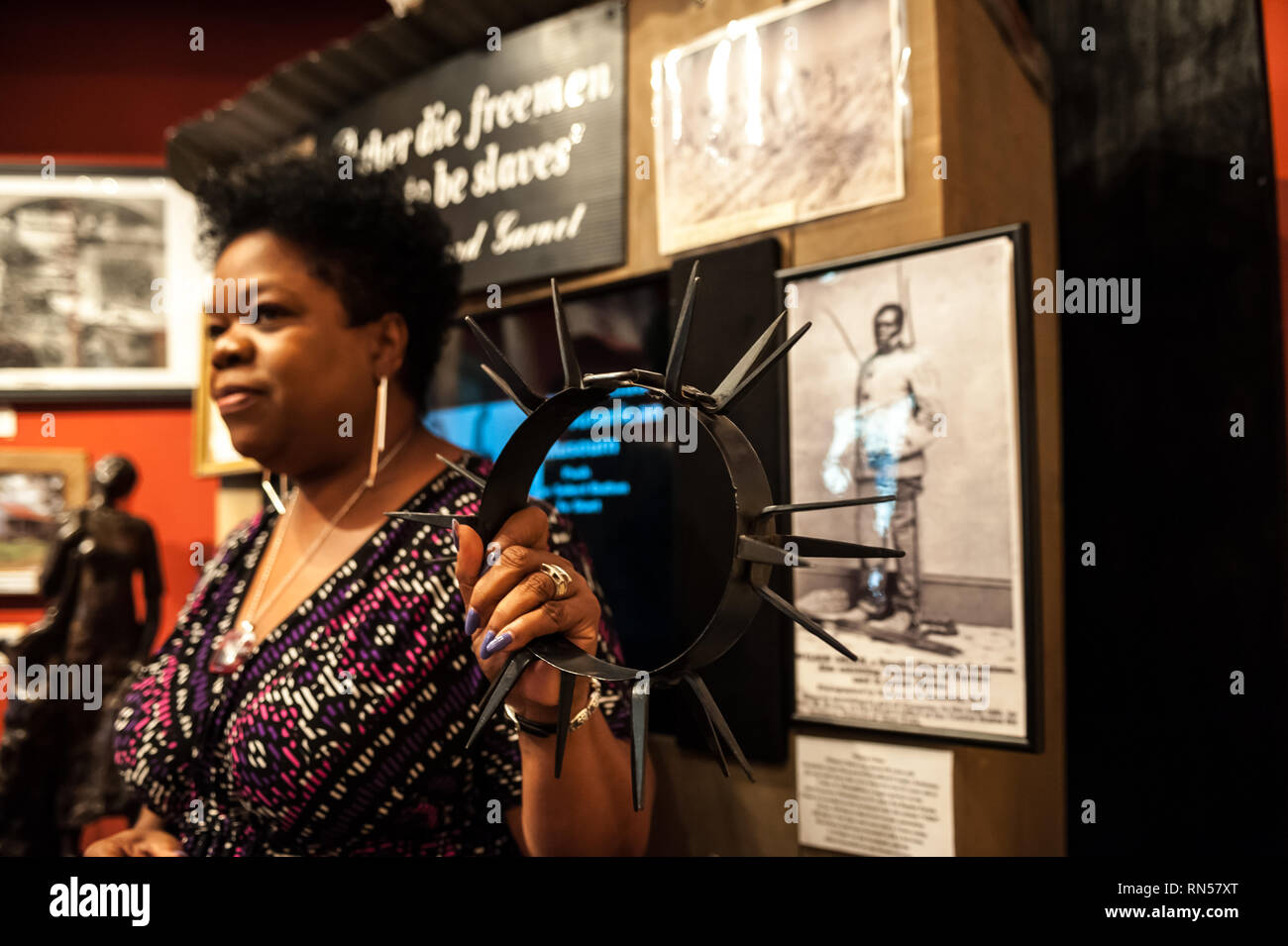 Donaldsonville, River Road African-American Museum, Louisiana, United States of America, North America - Stock Image