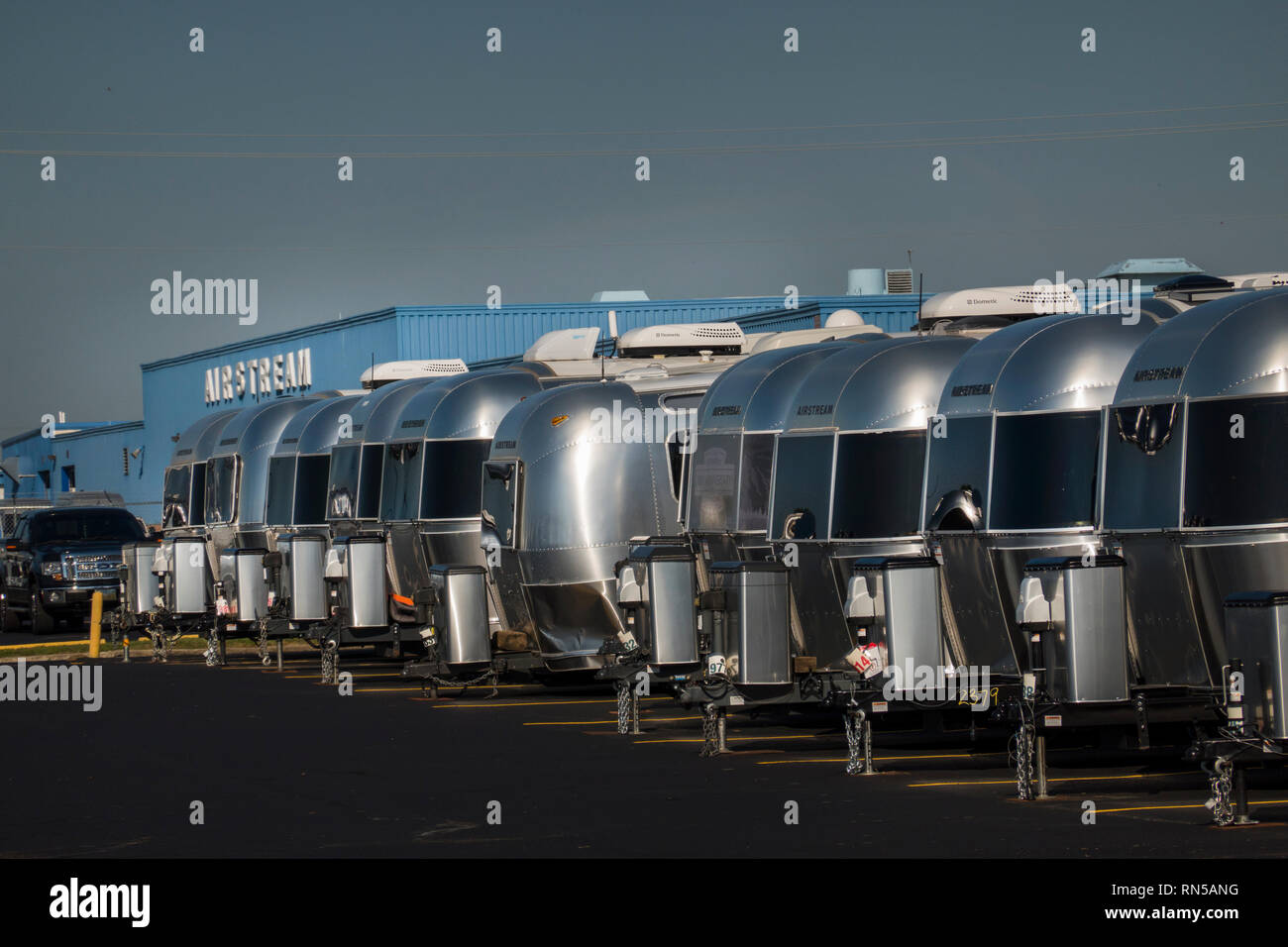 Airstream Trailers Stock Photos & Airstream Trailers Stock Images