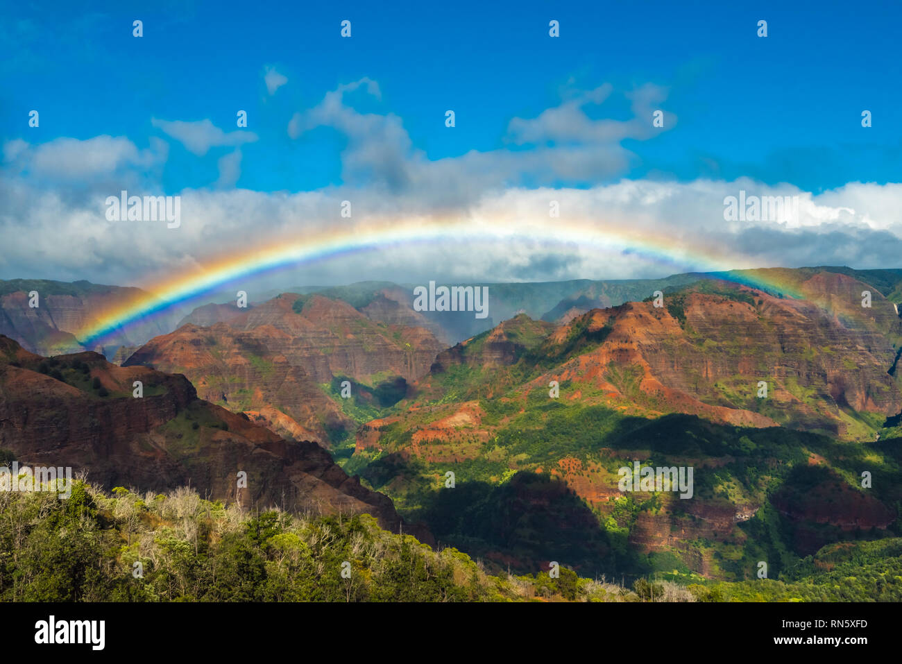 Hawaiian Landscapes Stock Photo 236773137 Alamy