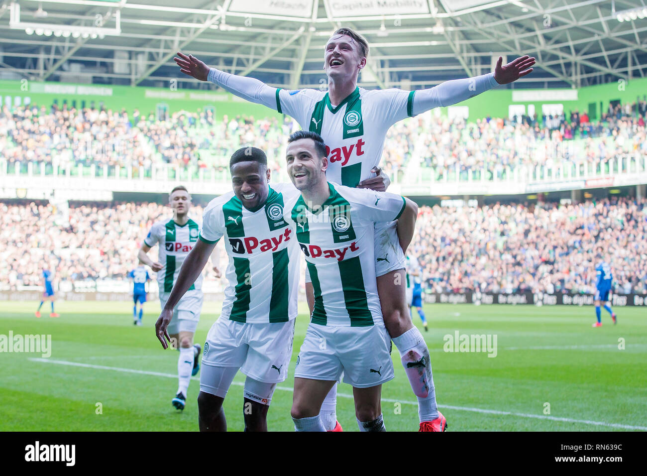 Thomas Bruns Of Fc Groningen High Resolution Stock Photography And Images Alamy