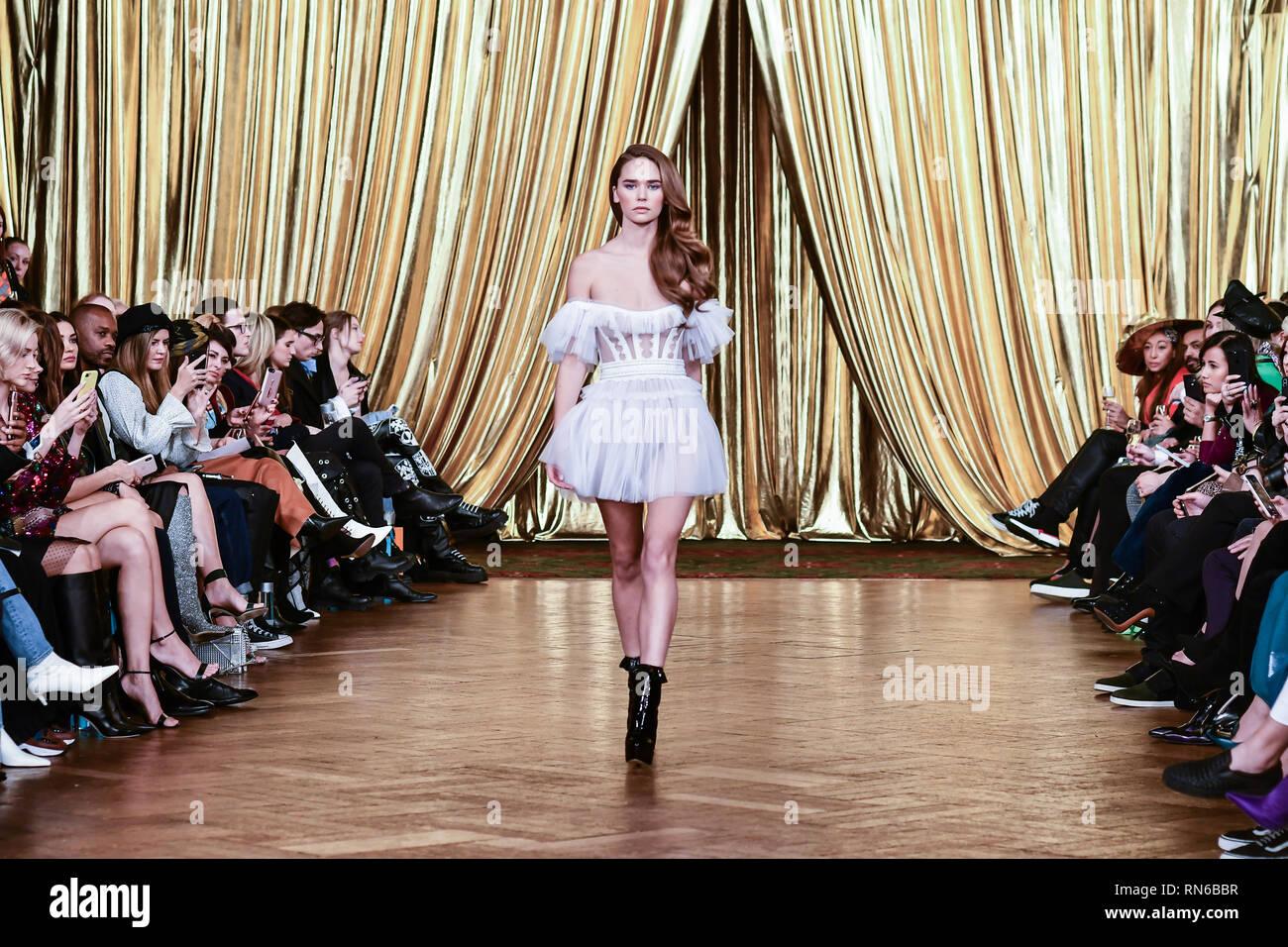 London Uk 17th Feb 2019 Aadnevik S Autumn Winter 2019 Fashion