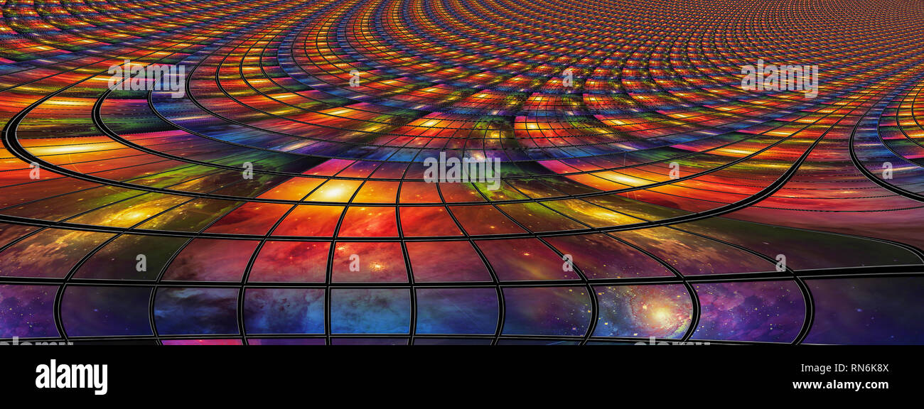 Video and image screens abstract - Stock Image