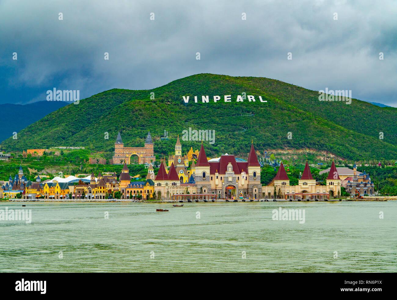 Vinpearl land in Nha Trang Vietnam - Stock Image