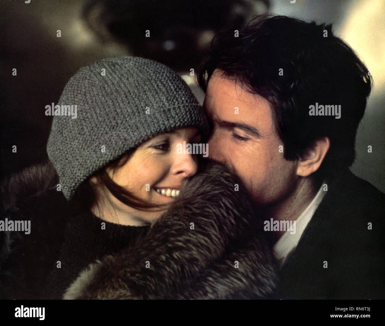 DIANE KEATON,WARREN BEATTY, REDS, 1981 - Stock Image
