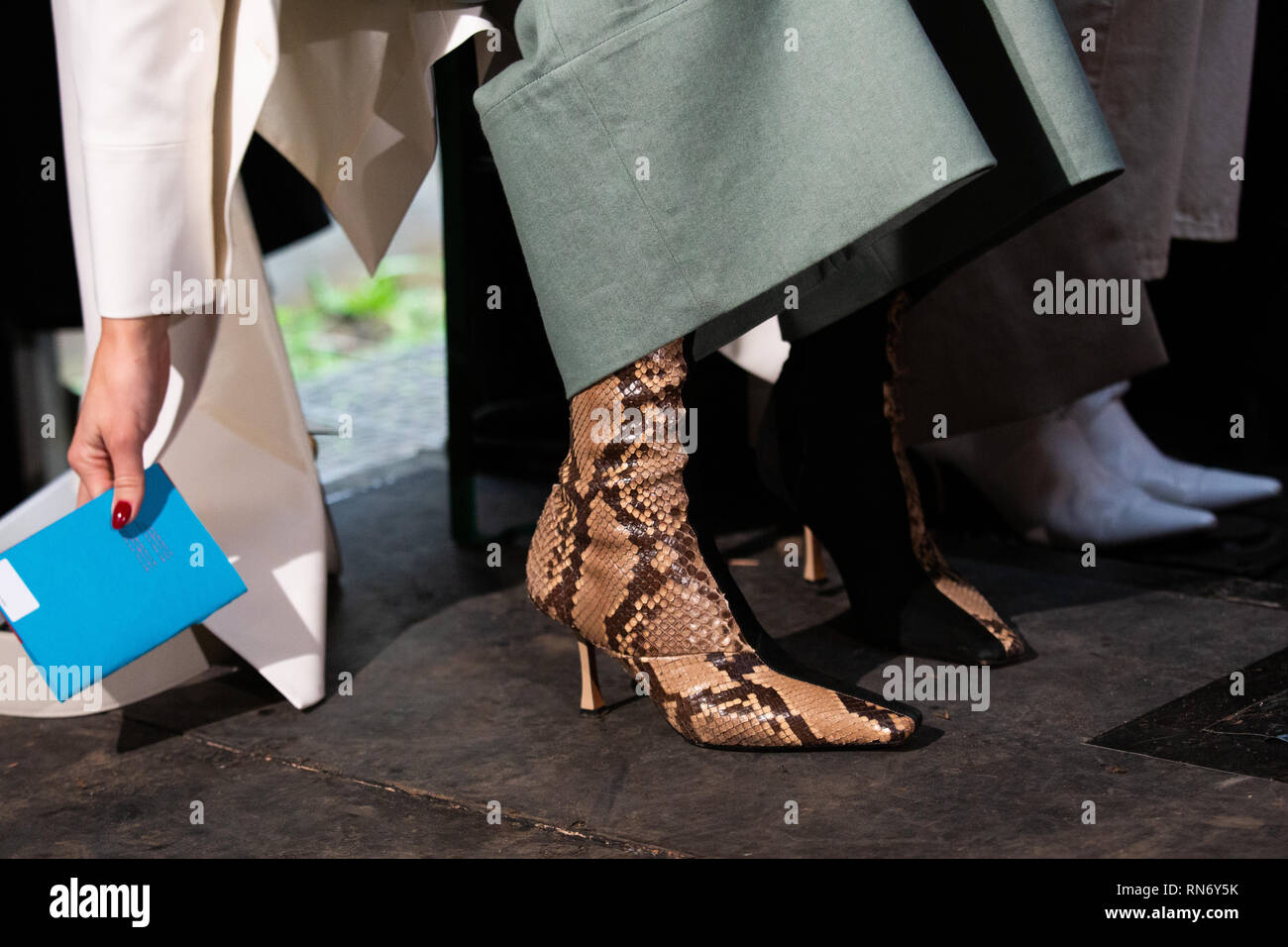 Shoe fashion pictured during the Autumn/ Winter 2019 London