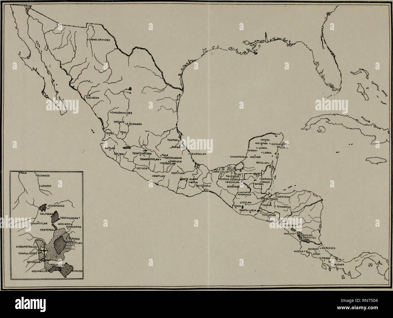 Ancient Civilizations Of Mexico And Central America Indians Of
