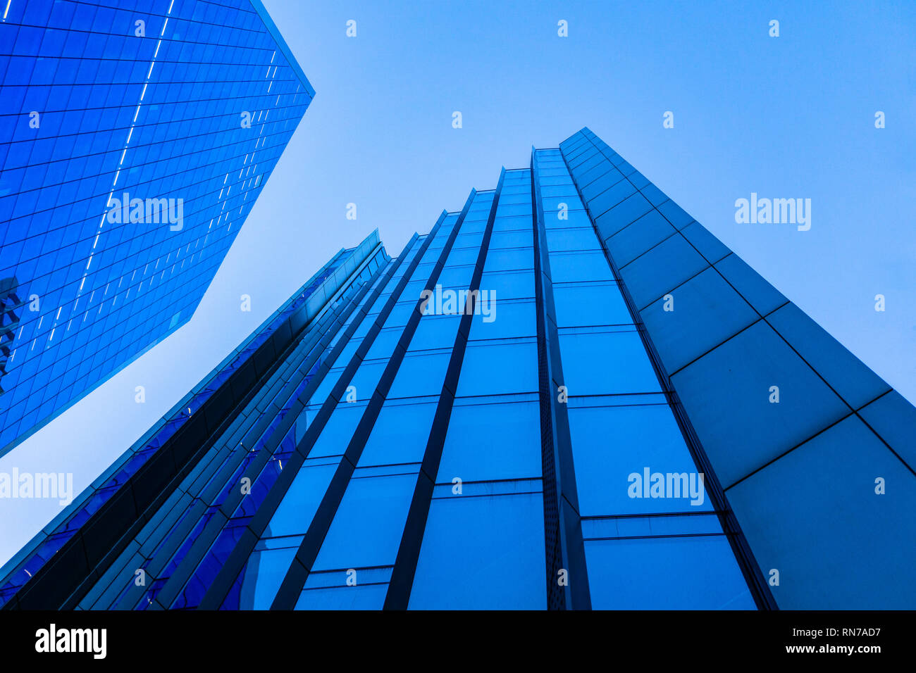 The Willis Building and The Scalpel [London] - Stock Image