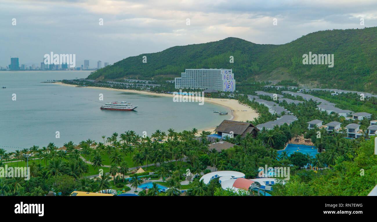 Vinpearl resort in Vietnam - Stock Image